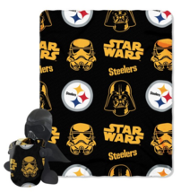 Pittsburgh Steelers Star Wars Darth Vader Plush & Throw Blanket Combo - €16,43 EUR