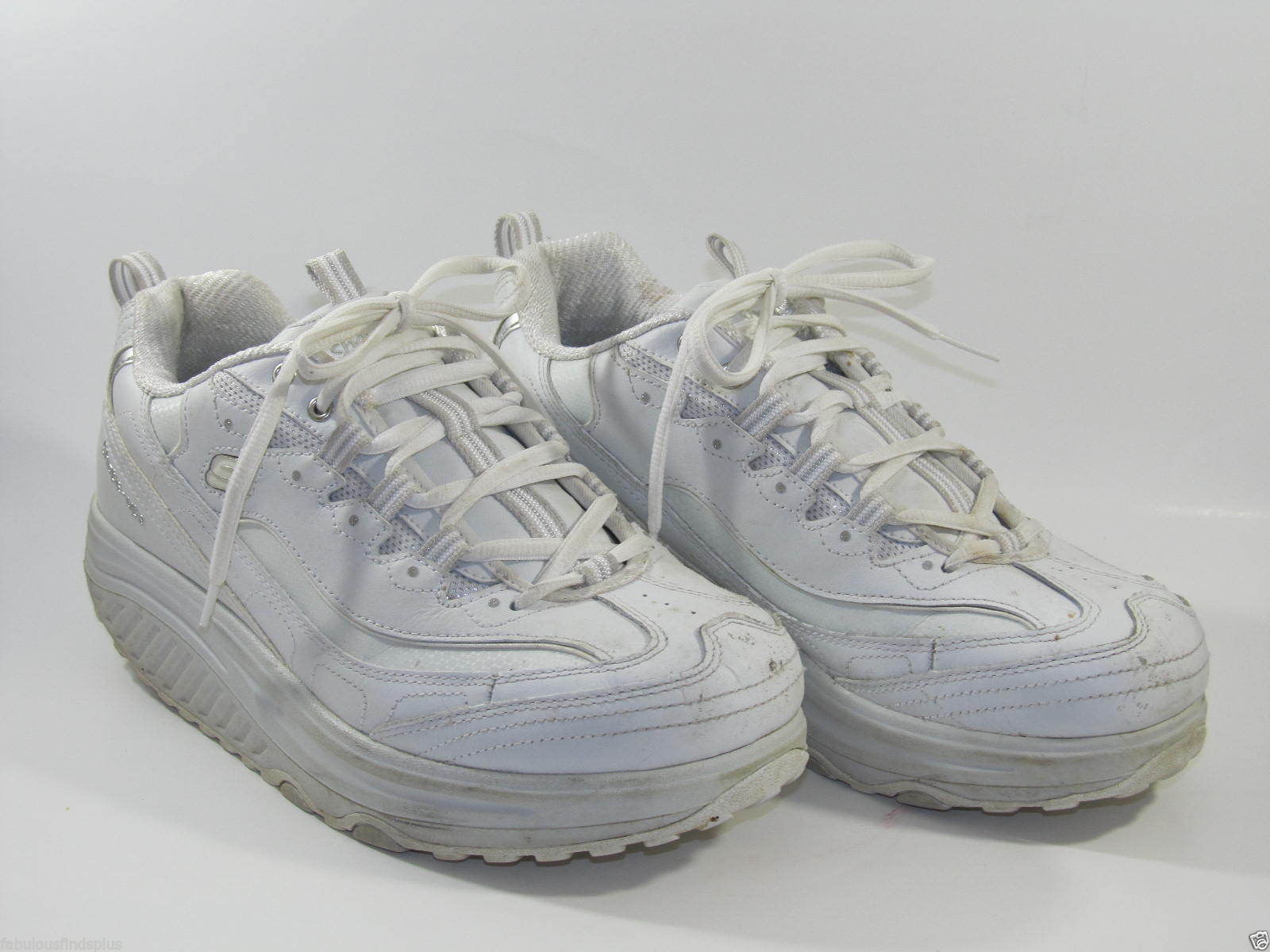 5a72efe8 57. 57. Previous. Skechers Shape Ups Womens Size 10 White Walking Athletic  Shoes pre owned · Skechers Shape ...