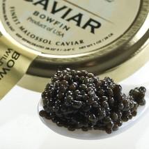 American Black Bowfin Caviar - Malossol - 35.20 oz tin - $345.56