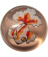 POKEMON MARBLE GOLDEEN #118 Colored GLASS MARBLE - $7.98
