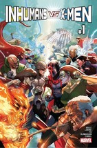INHUMANS VS X-MEN #1 REG est rel date  12/14/2016 - $4.99