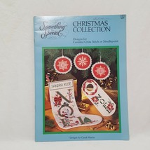 Christmas Collection Cross Stitch Pattern Leaflet 90022 Something Special 1985 - $16.99