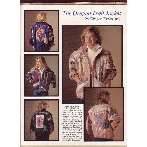The Oregon Trail Jacket Pattern, by Oregon Trails ~ XS-XXL