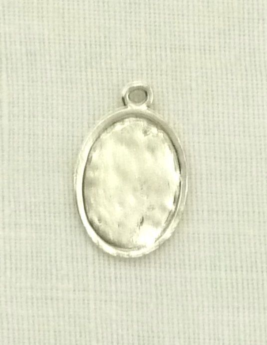 Retired St.Christopher Christ Carrier Medal Charms Legend Silver Plated New