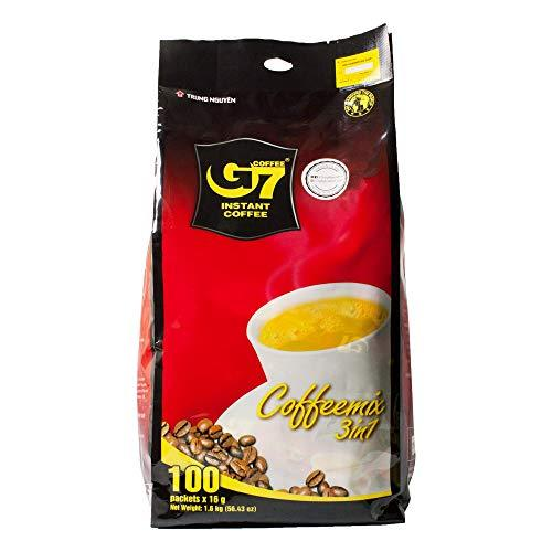 Primary image for Trung Nguyen - G7 3 In 1 Instant Coffee - 1 Pack 100 Sachets | Roasted Ground Co