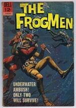 The Frogmen #8 ORIGINAL Vintage 1964 Dell Comics - $18.55