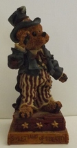Boyds Bear Resin Uncle Elliot...The Head Bean Wants You!  Special F.o.B. Edition - $14.99