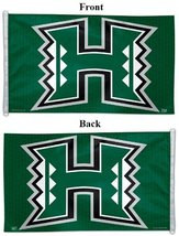 University of Hawaii Flag Large 3x5 Wincraft Green Logo New - $26.95