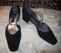 womens shoes stuart weitzman black pumps size 8.5 - $74.73
