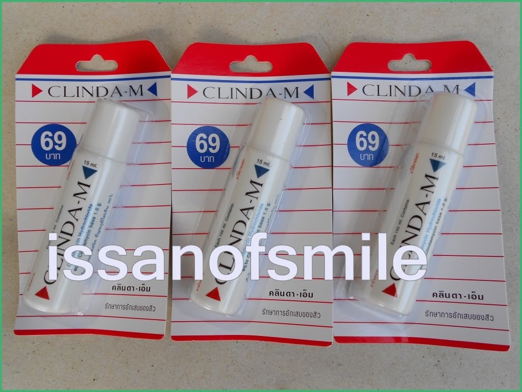3x15ml. CLINDA M Anti Inflammatory Acne Pimple