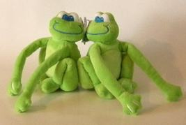 1/2 Price! Forever Friends Hugging Floppy Frogs New with Tags - $4.00
