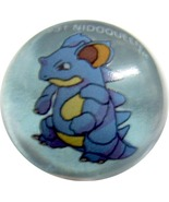 POKEMON MARBLE NIDOQUEEN #31 Colored GLASS MARBLE - $9.98