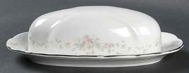 Vintage Pattern-Johann Haviland Floral Splendor NEW Covered Butter Dish - $29.69