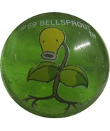 POKEMON MARBLE BELLSPROUT #69 Colored GLASS MARBLE - $7.98