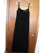 American Eagle Outfitters Black Velour Dress - Size 4 - $15.99