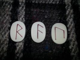 Viking Rune reading 3 runes - $9.99