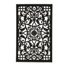 Nuvo Iron RECTANGLE DECORATIVE GATE FENCE INSERT ACW61 Fencing,Fence,Gat... - $109.99