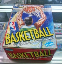 1989-1990 Fleer Basketball Unopened 89-90 Wax Box ! - $290.25