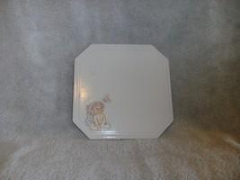 "Dreamsicles Kristen HOTPLATE Hot Plate Trivet VGC CUTE 8"" X 8"" - $27.66"