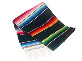 "One Sarape Blanket Wholesale Price 58""x80"" Reversible Mexico Throw Party... - $25.74 CAD"