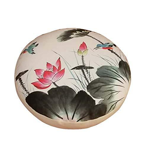 Primary image for Black Temptation Japanese Round Seat Cushion,Tatami Futon Cushion, Floor poufs [