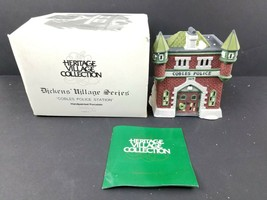 Department 56 Cobble Police Station 1825 Dicken's Village Series 5583-2 ... - $27.19