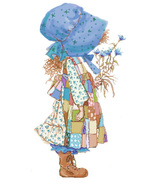 Holly Hobbie Blue  Dress Cross Stitch Pattern***LOOK*** - $4.95