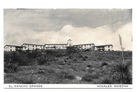 RPPC Nogales Arizona El Rancho Grande Vintage Real Photo Postcard AZ - $4.99