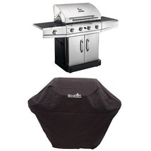 CharBroil Classic 4Burner+1Side StainlesSteel 46000BTU LPGas Grill w/FRE... - £536.77 GBP
