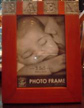 Wood Baby Photo Frame 3.5 x 5 inch - $6.91