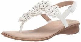 Soul Naturalizer Women'S June Flat Sandal, White, 7.5 W Us - $39.66