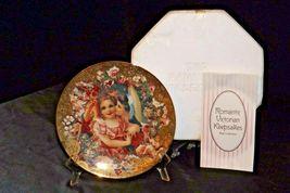 "1992 ""Dearest Kiss"" Commemorative Plate by John Grossman AA20-CP2311 Vintage Rom image 3"