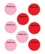 Scallop Circle Thank you19-Download-ClipArt-Art... - $3.00