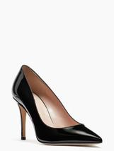 Kate Spade New York Black Leather Vivian Pumps, Us 7.5 M, Eu 38 - $135.43