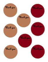 Scallop Circle Thank you20-Download-ClipArt-ArtClip-Digital Tags-Digital - $2.00