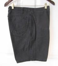 Sz 10 Duo Maternity Womens  Black Denim Cotton Shorts 10 - $5.99