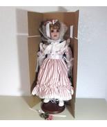 "Echo 22"" Porcelain Doll w/COA New Original Box Autumn's Meadow Collection - $34.95"