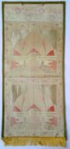 Large Ethnic designer brocade and zari work silk/cotton Wall Hanging. 10... - $20.00