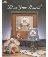 BLESS YOUR HEARTS  by Dianna Marcum Tole Painting Pattern Book   - $5.99