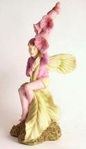 c1990 Danbury Mint Flower Fairies Foxglove fairy figurine Cicely Mary Ba... - $138.97