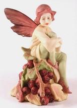 c1988 Danbury Mint Flower Fairies figurine - The Hawthorn Fairy - Inspired - $182.91