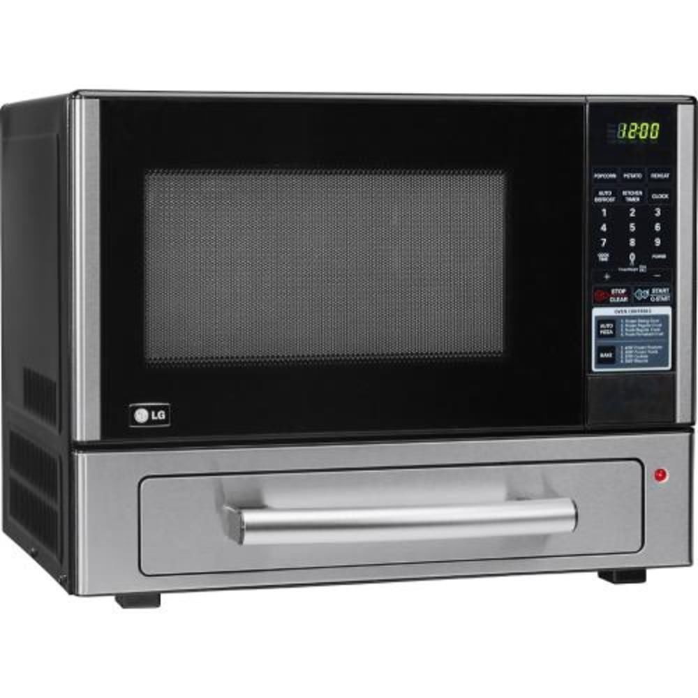 Countertop Microwave Lg : LG Countertop Microwave/Pizza Backing Oven Stainless Steel Perfect ...