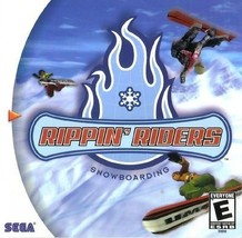Rippin' Riders Snowboarding Dreamcast Mint Condition - $8.94