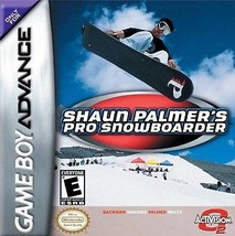 Shaun Palmer's Pro Snowboarder GBA Great Condition Fast Shipping - $2.64