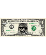 HANK WILLIAMS JR - REAL Dollar Bill Cash Money Collectible Memorabilia C... - $7.77