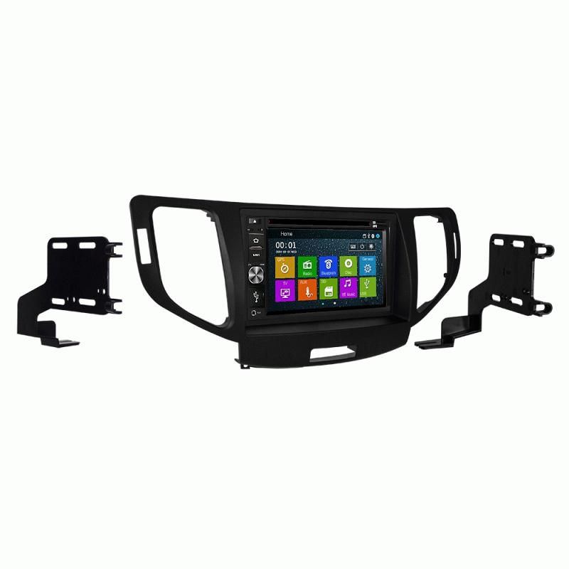 DVD GPS CD Navigation Multimedia Bluetooth Radio and Dash Kit for Acura TSX 2010