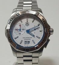 TAG Heuer Aquaracer 300M WAP111Y Stainless Steel Alarm Quartz Watch - $899.95