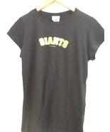 LADIES SF San Francisco Giants Black T-SHIRT Lowry #51 6TH & OCEAN CLOTH... - $11.95