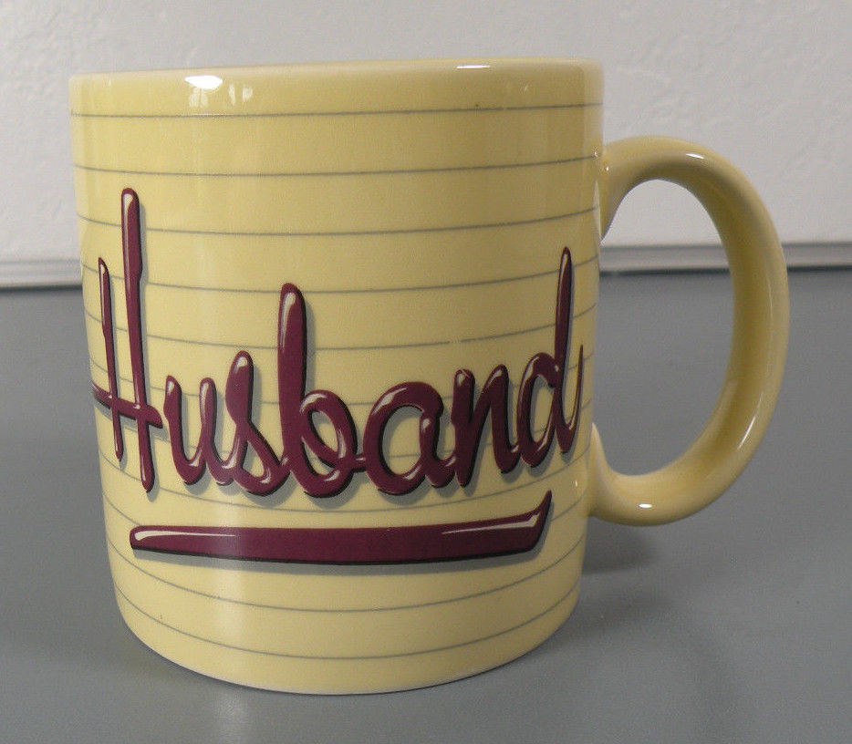 Primary image for Great Father's Day Gift for a Husband!  VINTAGE1985 Applause Husband Coffee Mug