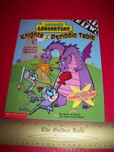 Scholastic Cartoon Activity Book Dexter Laboratory Knights Story Sticker... - $5.69